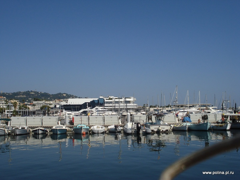 Croisette, Cannes, tours in Russian with guide and mini van